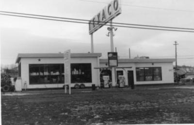 Three Way Texaco Station, Dawson Creek, B.C., 1960-1969