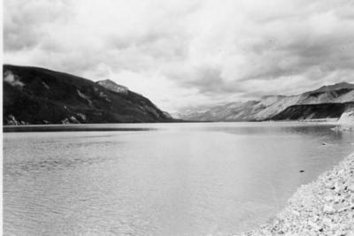 Muncho Lake, Alaska Highway 1950