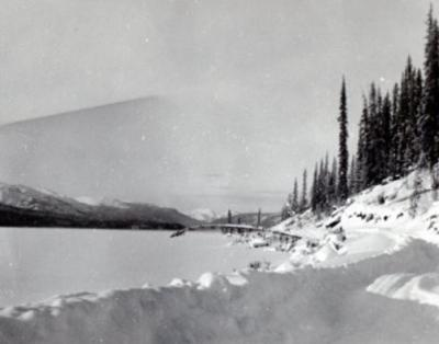 Quiet Lake, Mile 62, Norman Wells Road, Canol Project, Yukon, 1942-1944