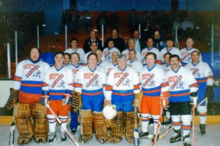 Canuck Hockey Reunion, Dawson Creek, BC 1996