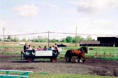 Opening Day Pioneer Village, Rides, Dawson Creek, BC May 30, 1992