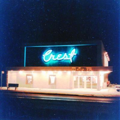 Crest Theatre, opened April 1951 closed 1982 Dawson Creek, BC ca 1985