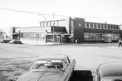 Federal Building & Post Office, 10401 10th Street, Dawson Creek, BC 1965