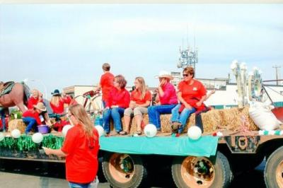4 - H float, parade, Dawson Creek, BC August 2014