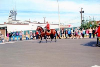 Parade, Dawson Creek, BC August 2014