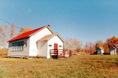 North Rolla, BC School House, 1992