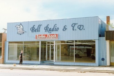 Bell Radio & TV, 1021 - 103rd Ave, Dawson Creek, BC ca 1986