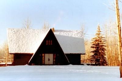 Ski Hill, Dawson Creek, BC Christmas 1988