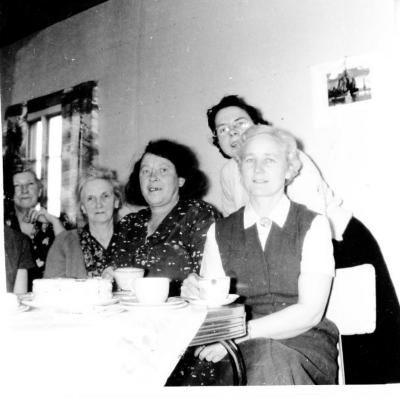 Bon Accord WI, Remember; Mrs. Smith Mrs. Sketchley, Rose Rogers and Mrs. Hannam.