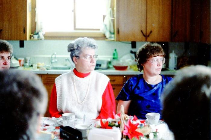 Bon Accord W.I. Ann Braun and Sue Fyfe